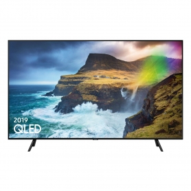 "Samsung 75 "" QLED SMART TV - Black - A Energy Rated"