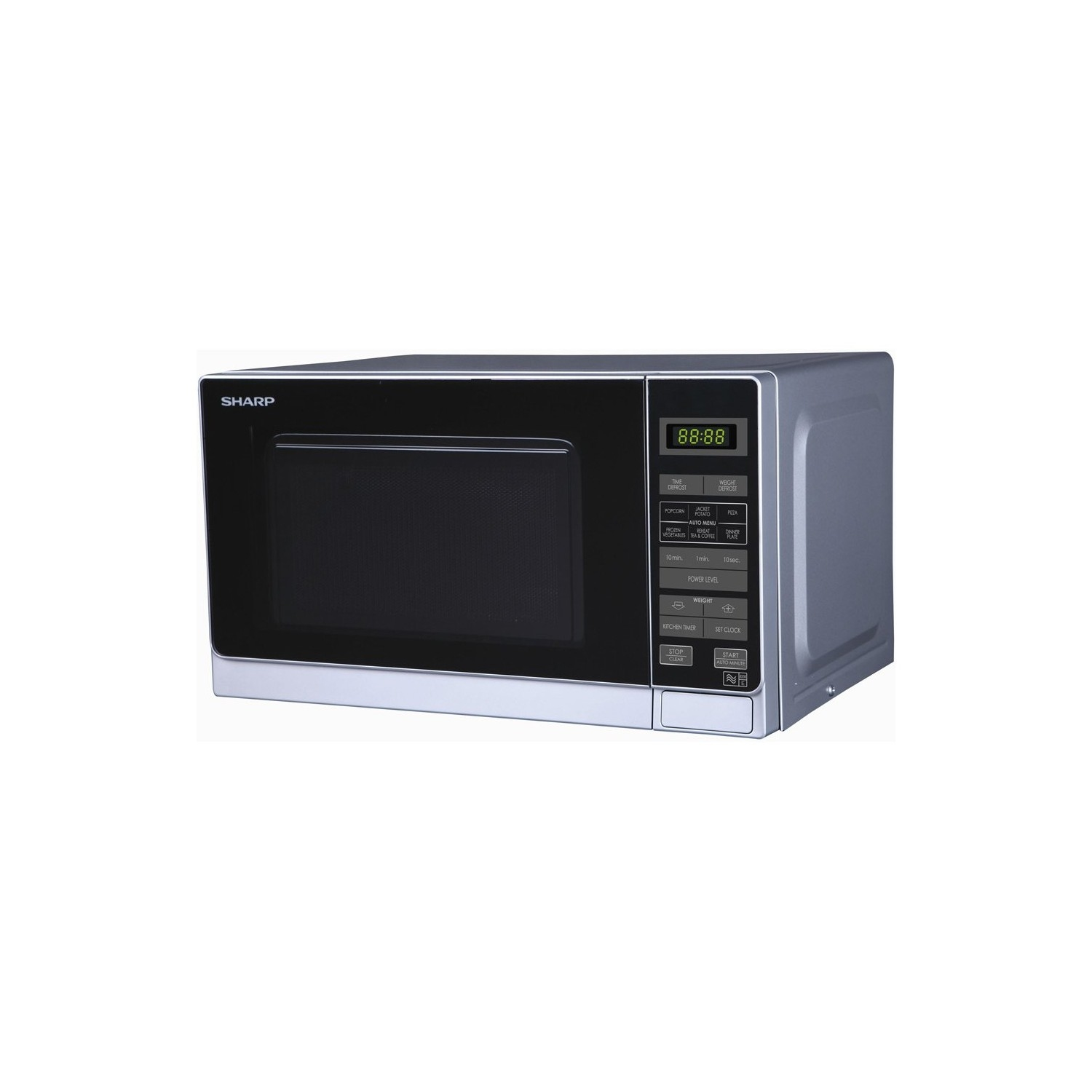 Sharp 20 Litre Microwave - Silver - 0