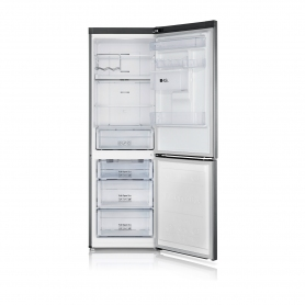 Samsung 60cm Total No Frost Fridge Freezer - Water Dispenser - Silver - 3