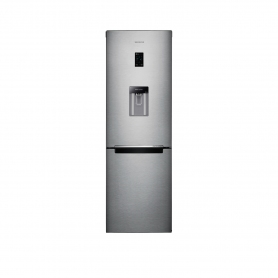 Samsung 60cm Frost Frost Fridge Freezer With Water Dispenser - Silver