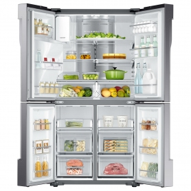 Samsung American Fridge Freezer - Stainless Steel - 6