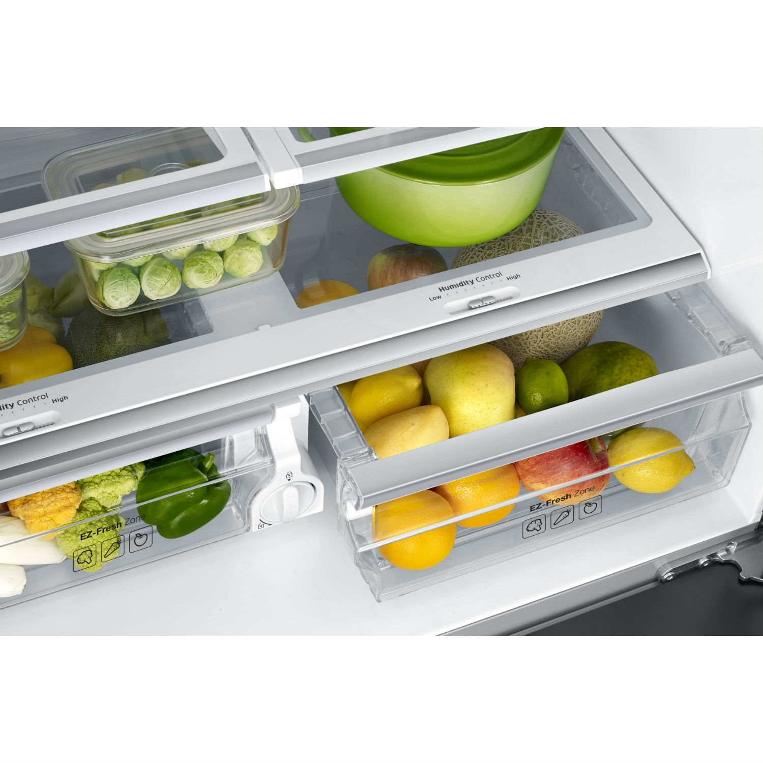 Samsung American Fridge Freezer - Stainless Steel - 1