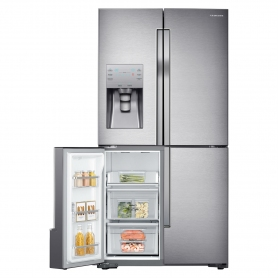 Samsung American Fridge Freezer - Stainless Steel - 4