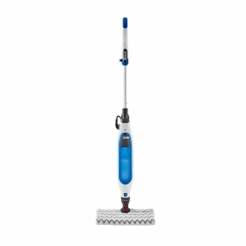 Shark Klik n'Flip Manual Steam Pocket Mop - White/Blue Bird Blue