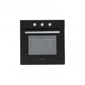 Montpellier Electric Single Oven & Hob Pack - Black - A Rated
