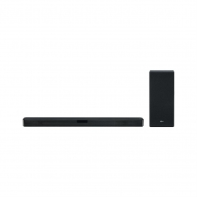 LG Flat Soundbar + Subwoofer 2.1 Ch - 400W - DTS Virtual X- Black