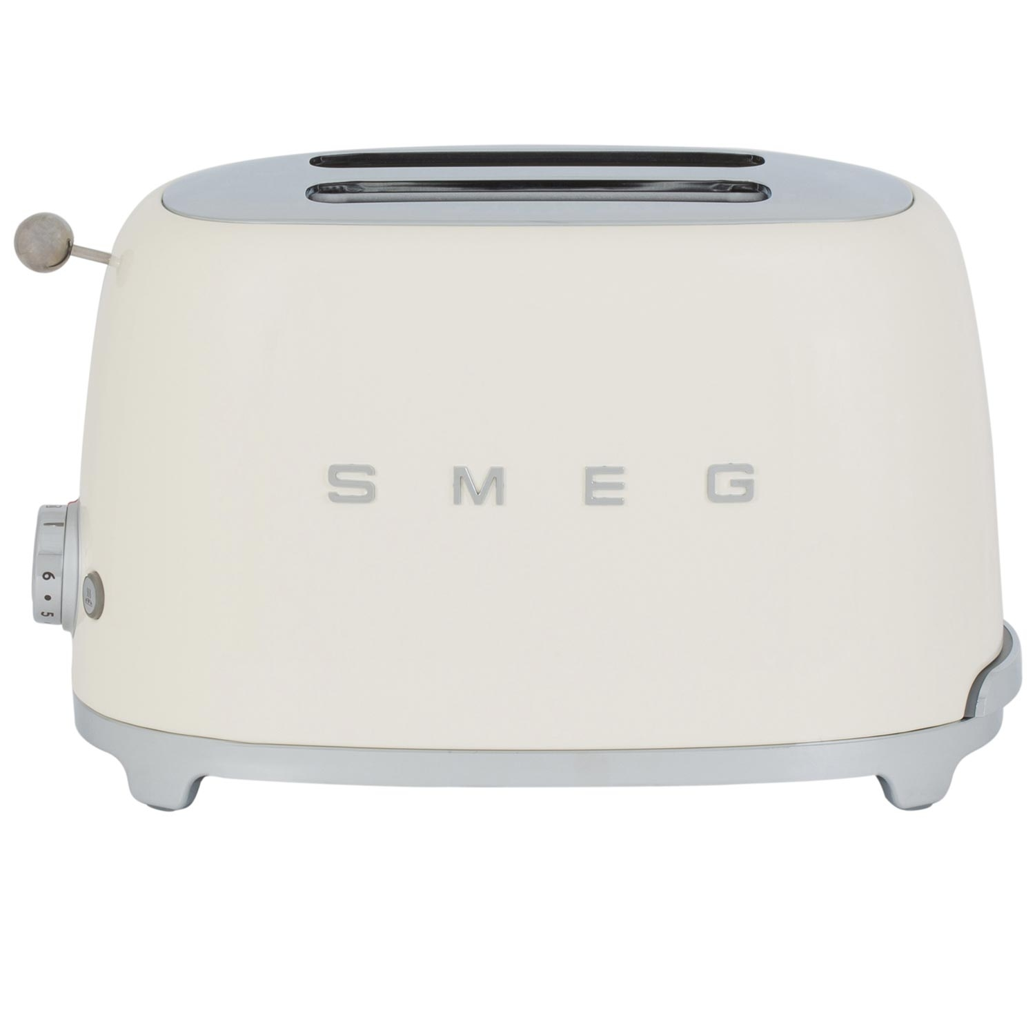 Smeg 2 Slice Toaster - Cream - 0