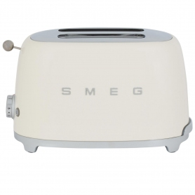 Smeg 2 Slice Toaster - Cream - 11