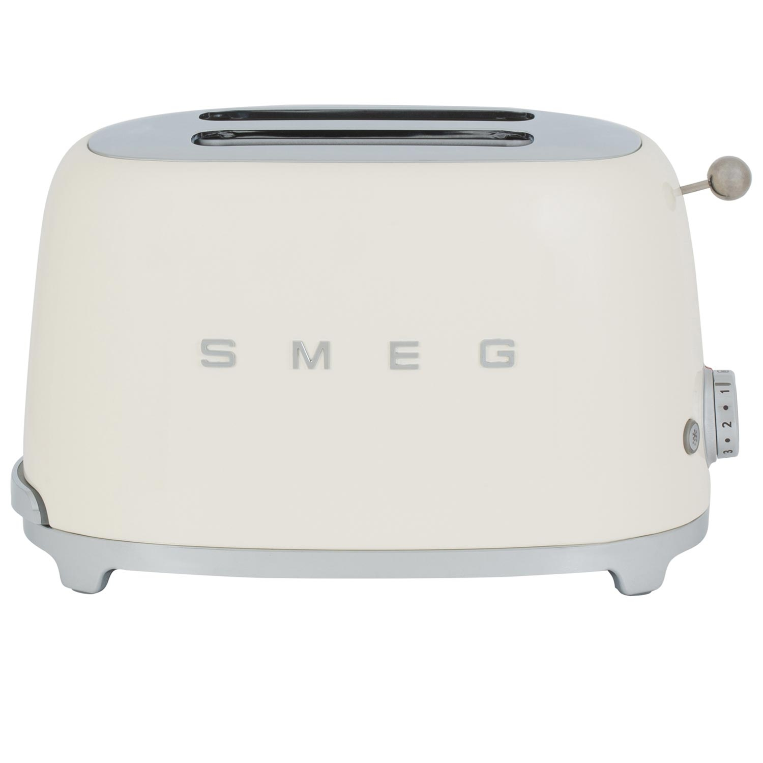 Smeg 2 Slice Toaster - Cream - 7