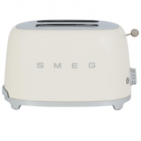 Smeg 2 Slice Toaster - Cream - 9