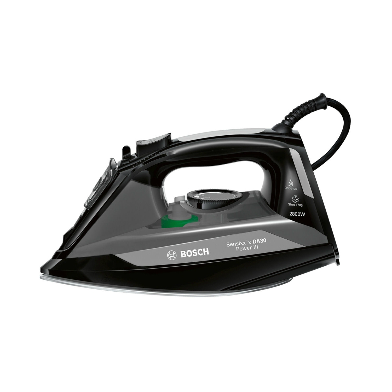 Bosch Steam Iron - Black - 0