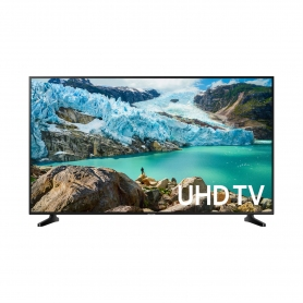 "Samsung 50"" 4K UHD SMART TV - Black - A Energy Rated"