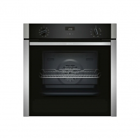 Neff Slide & Hide Built In Electric Single Oven - Stainless Steel