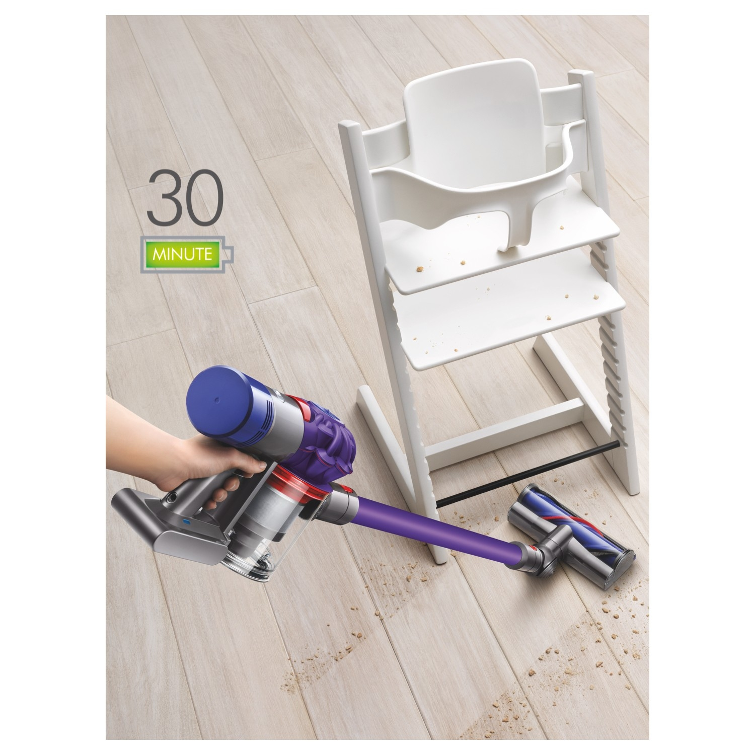 Dyson V7ANIMALPLUS Cordless Vacuum Cleaner - 30 Minute Run Time - 1