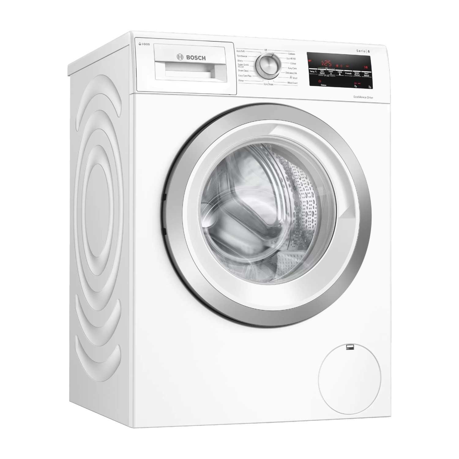 Bosch 8kg 1400 Spin Washing Machine - White - A+++ Energy Rated - 0