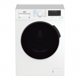 Beko 7kg/4kg 1200 Spin Washer Dryer - White - B Energy Rated