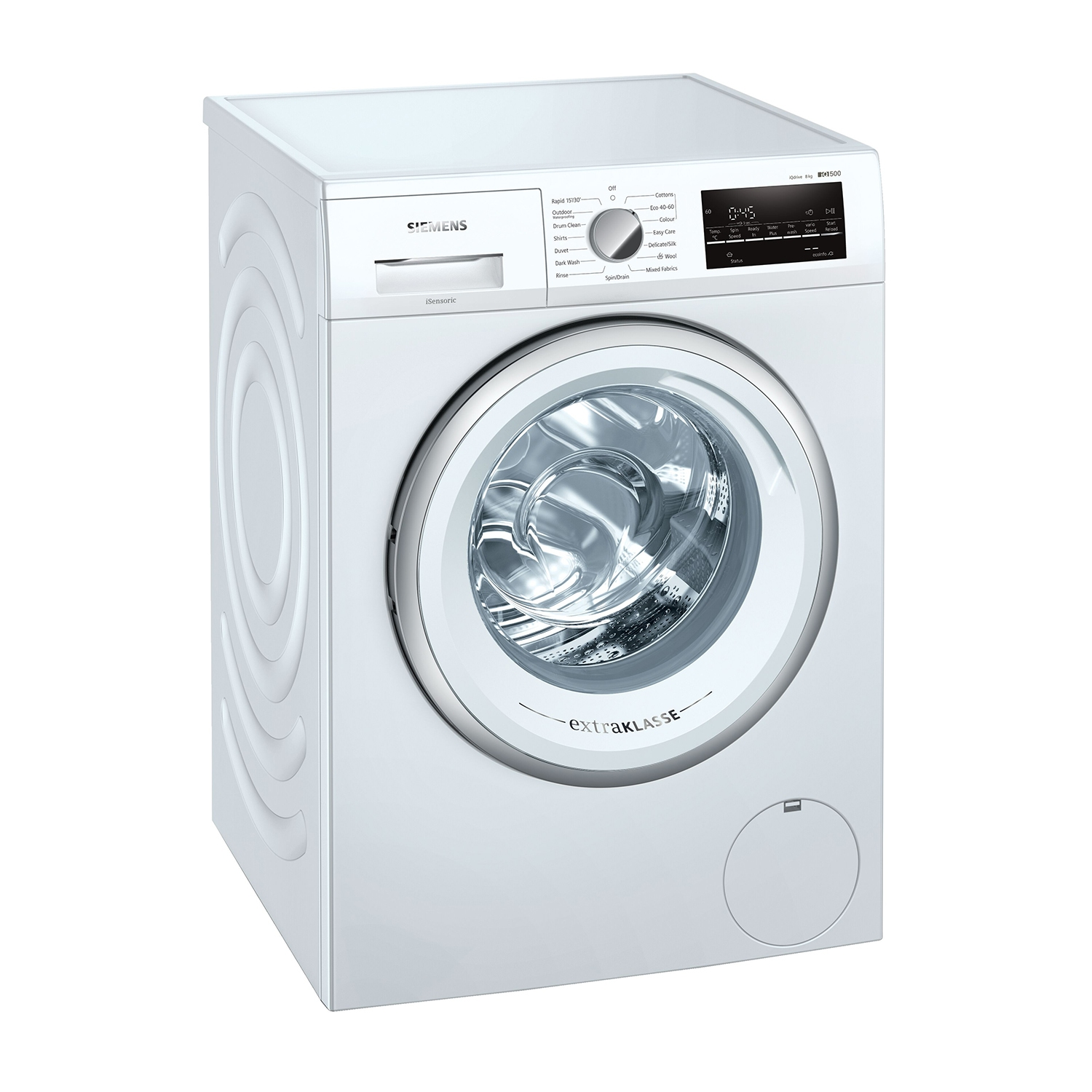 Siemens 8kg 1400 Spin Washing Machine - White - A+++ Rated - 0