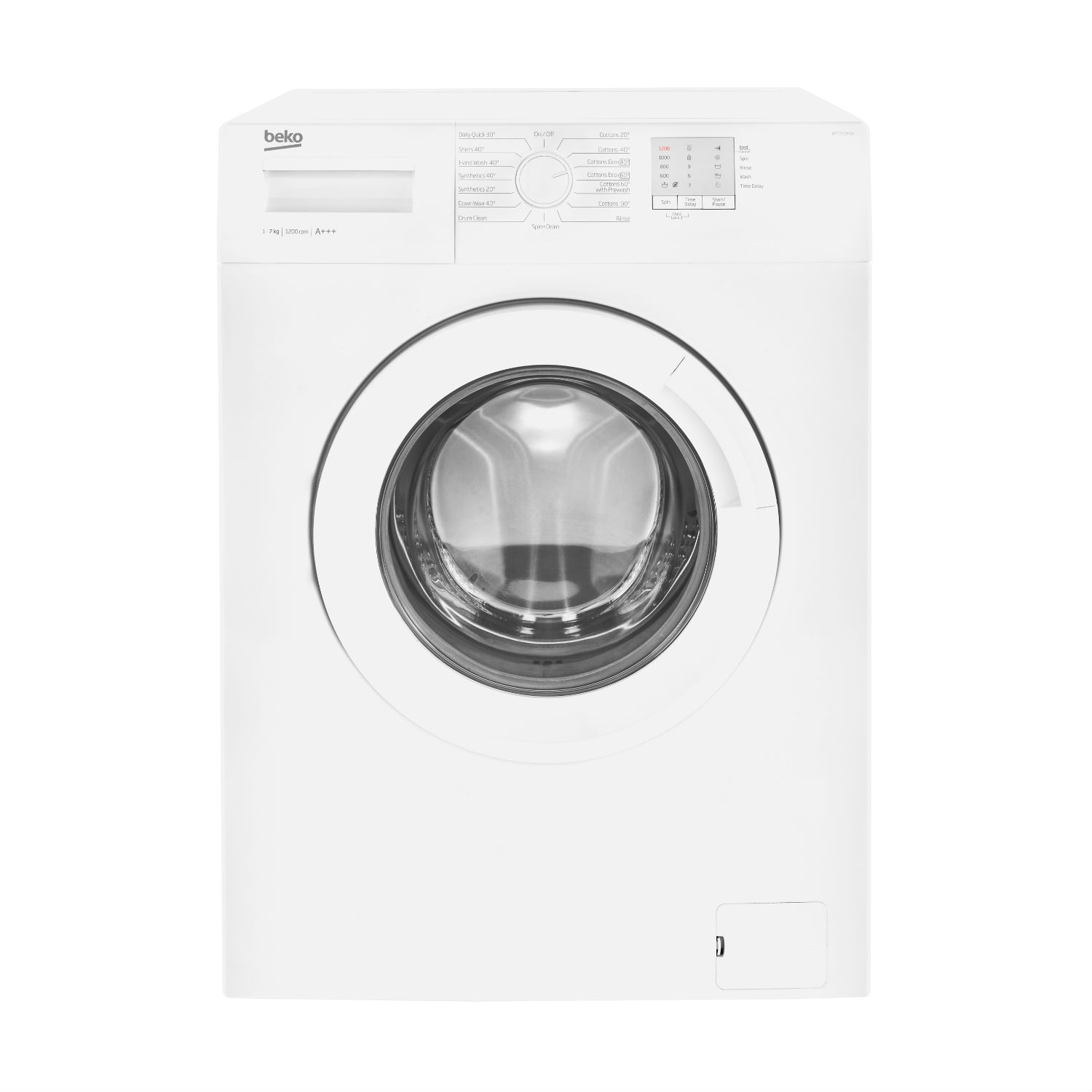 Beko 7kg 1200 Washing Machine - White - A+++ Energy Rated - 0