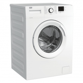 Beko WTK62041W 6kg 1200 Spin Washing Machine with Quick Programme - White - 1