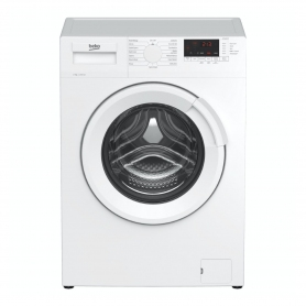 Beko 8kg 1400 Spin Washing Machine with Fast Wash - White