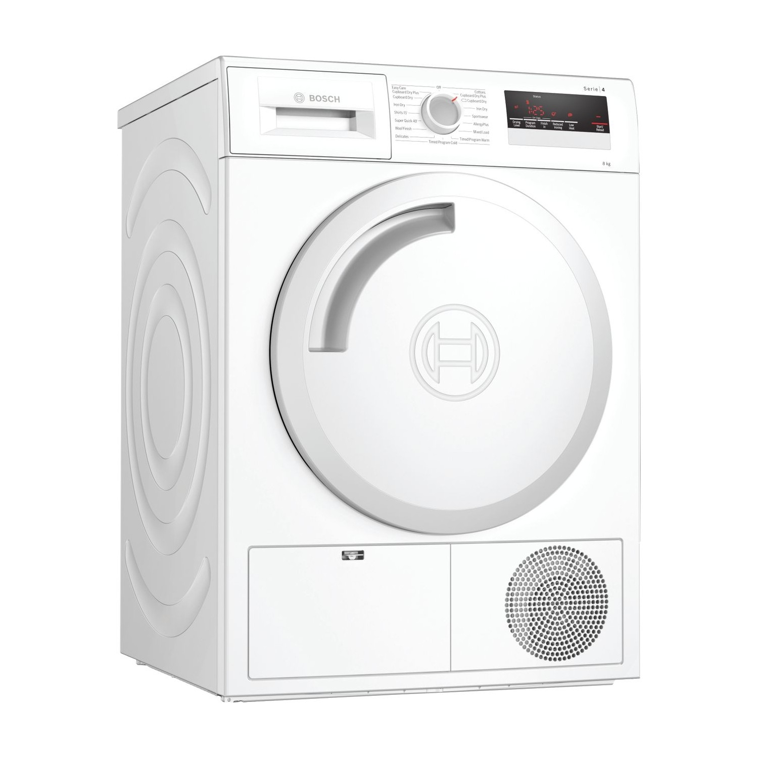 Bosch 8kg Condenser Tumble Dryer - White  - 0