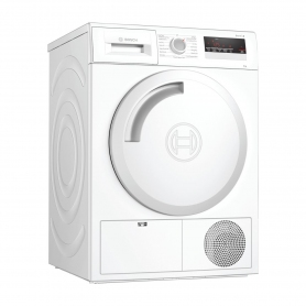 Bosch 8kg Condenser Tumble Dryer - White - B Energy Rated