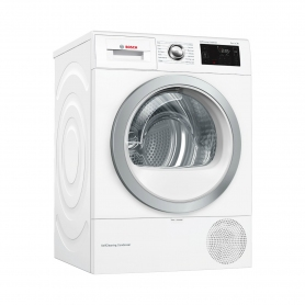 Bosch WTWH7660GB 9kg Condenser Tumble Dryer with Heat Pump - White