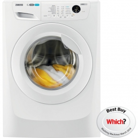 Zanussi 9kg 1200 Spin Washing Machine - White - A+++ Rated