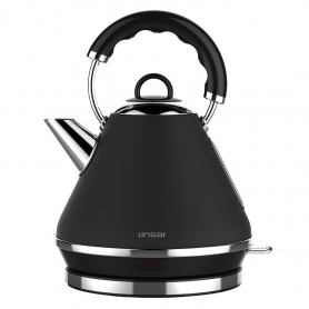 Linsar 1.7 Litre Pyramid Kettle - Black