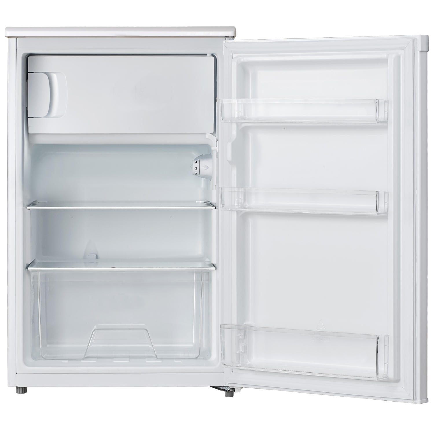 Lec R5017W 50cm Undercounter Fridge - White - 1