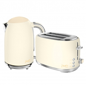 Fearne by Swan Kettle & Toaster Bundle Pale Honey