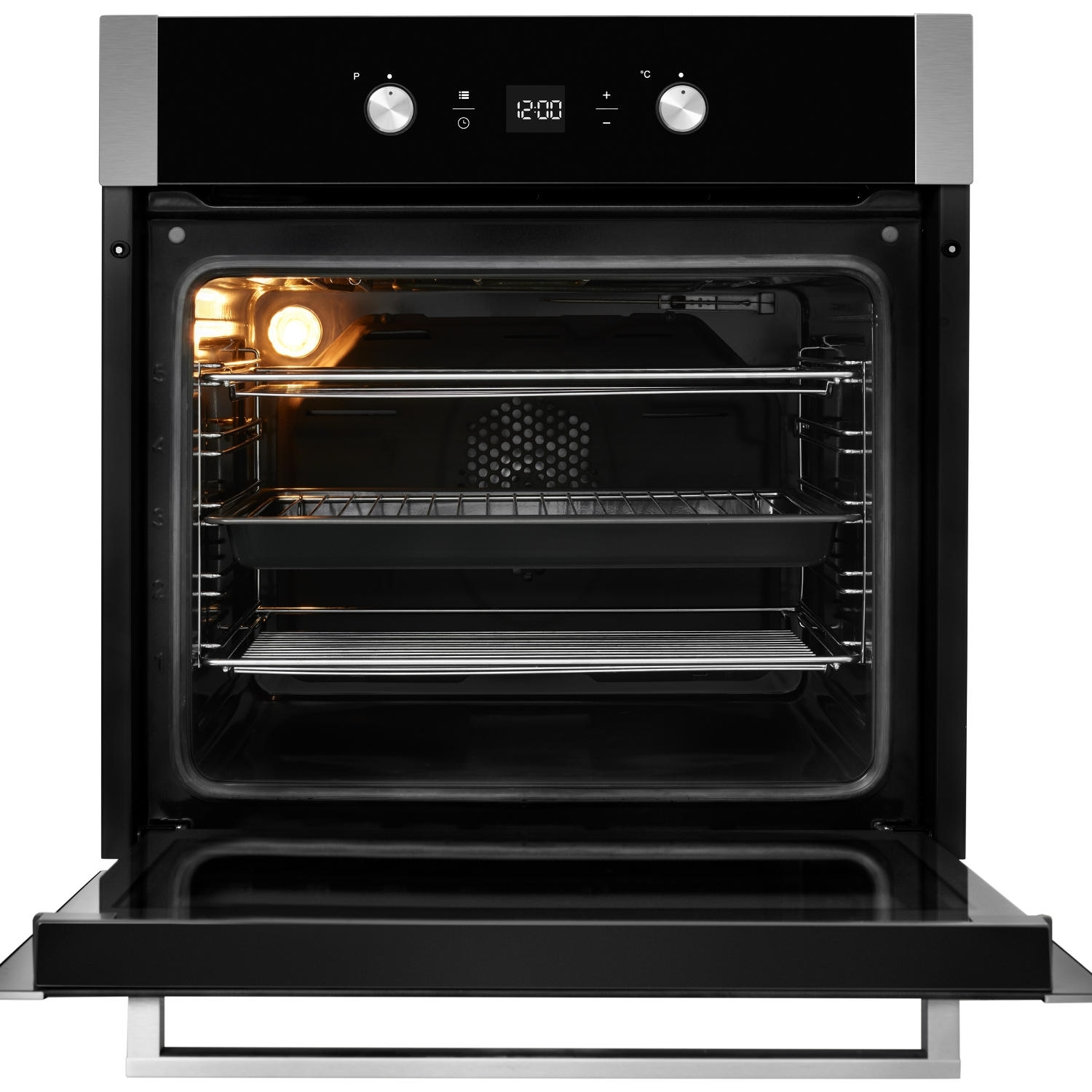 Blomberg OEN9302X 59.4cm Built Electric Single Oven - Stainless Steel - 4