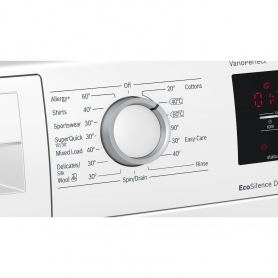 Bosch 9kg 1400 Spin Washing Machine - White - A+++ Rated - 2