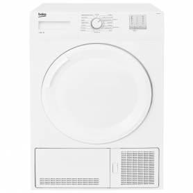 Beko 8kg Condenser Tumble Dryer - White - B Rated - 6
