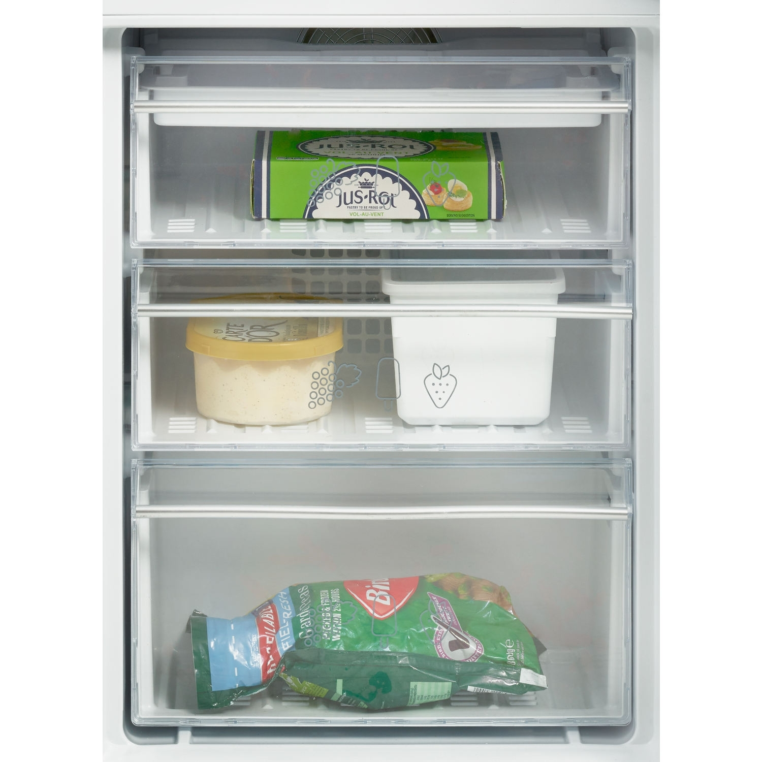 Blomberg 70/30 Integrated Frost Free Fridge Freezer - A+ Rated - 1