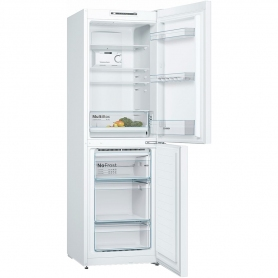 Bosch 60cm Frost Free Fridge Freezer - White - A++ Rated - 3