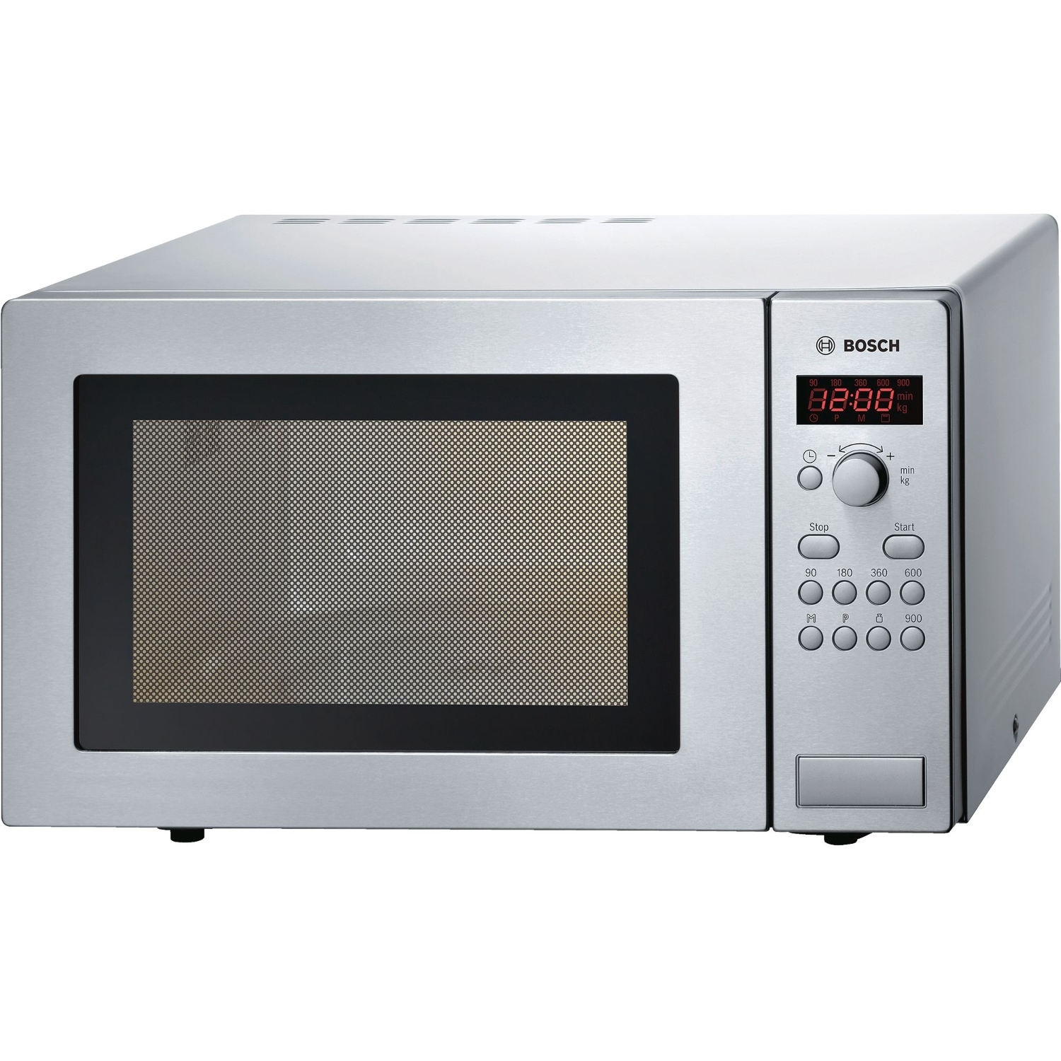 Bosch 25 Litre Microwave - Brushed Steel - 0
