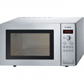 Bosch 25 Litre Microwave - Brushed Steel
