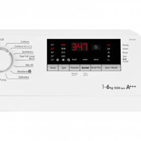 Blomberg 6kg 1200 Spin Slim Depth Washing Machine - White - A+++ Rated - 2