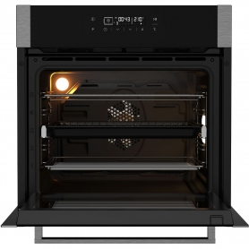 Blomberg Built In Multifunction Pyro Programmable Electric Single Oven - S/Steel - A+ Rated - 4