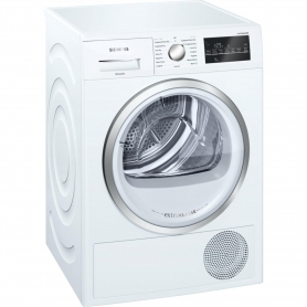 Siemens extraKlasse iQ500 9kg Condenser Tumble Dryer - White - B Rated