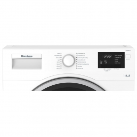 Blomberg LTK28021W 8kg Condenser Tumble Dryer - White - 7