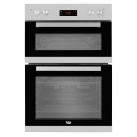 Beko Built In Electric Double Oven - Stainless Steel - A/A Rated