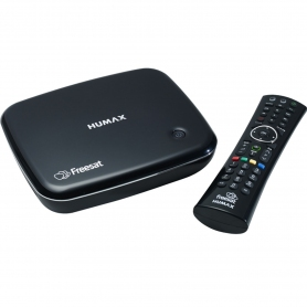 Humax HB-1100S Satellite Receiver - Freesat- HD - Smart-Set top box- Black - 1