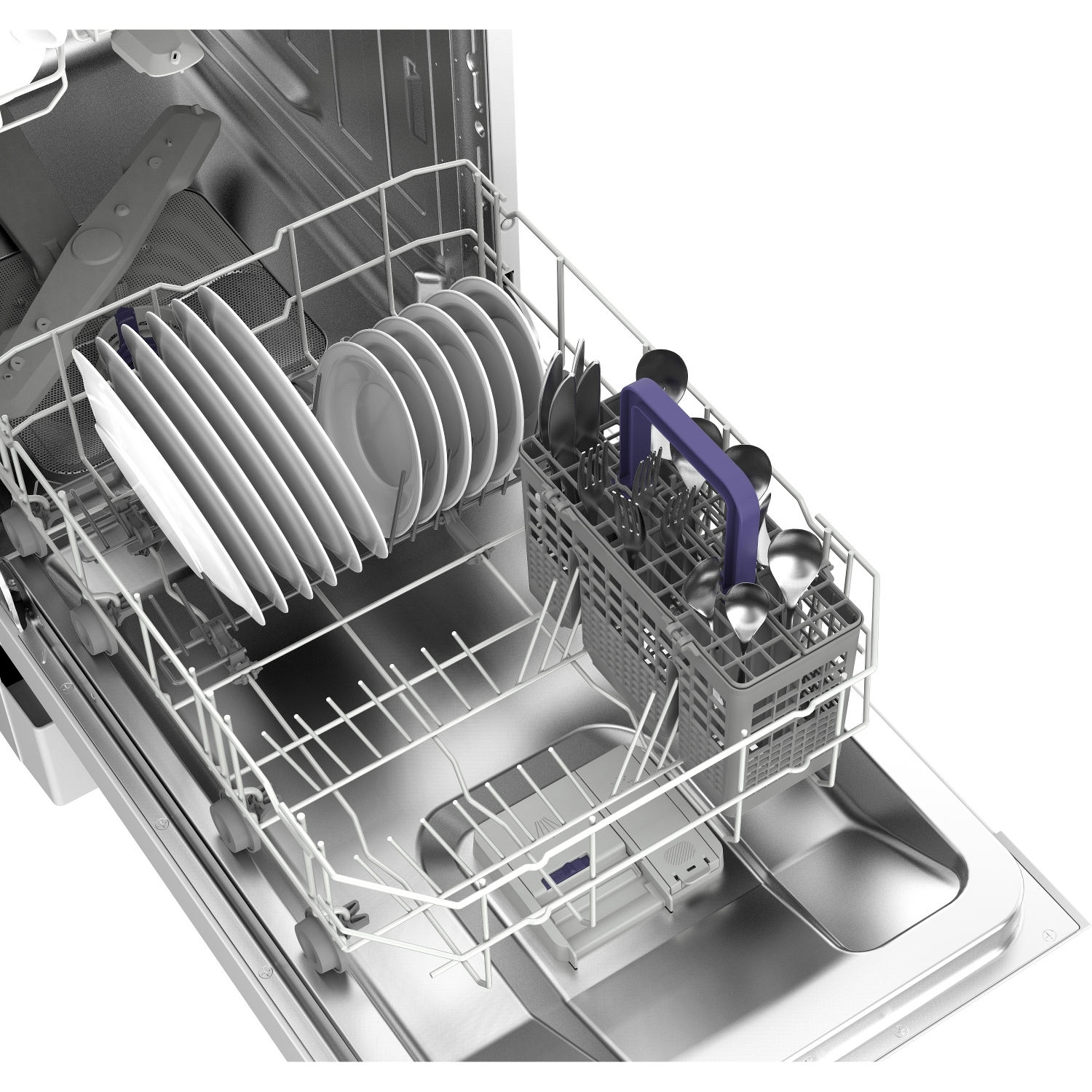 Beko Slimline Dishwasher - White - A+ Rated - 3