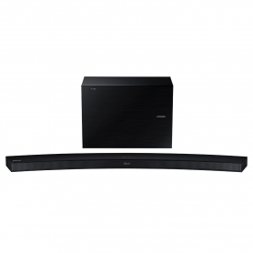 Samsung 300 Watt Wireless Curved Soundbar - 2