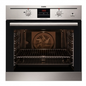 AEG SteamBake Built In Single Electric Oven