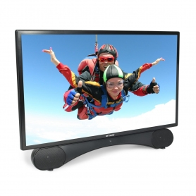 "Linsar 24"" Full HD LED TV + Built In DVD - A Rated - 1"