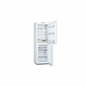 Bosch 60cm Frost Free Fridge Freezer - White - A++ Rated - 8