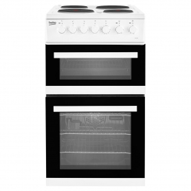 Beko 50cm Electric Double Oven with grill Cooker - White - A Energy Rated - 3